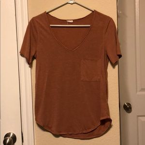 Soft v-neck shirt